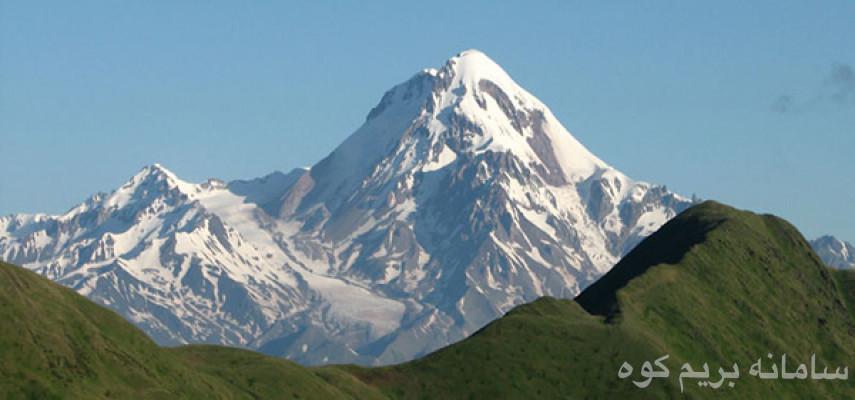 صعود قله کازبک گرجستان