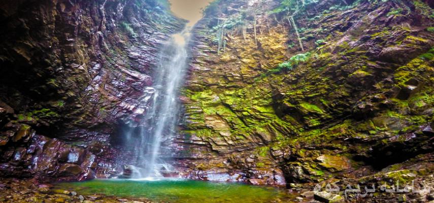 پیمایش آبشار گزو به دریاچه لفور