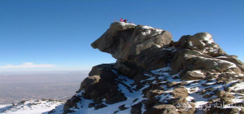صعود قله الوند