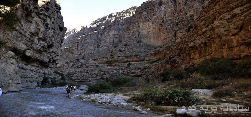 طبیعت گردی دره زیبای شمخال (بهشت خراسان)
