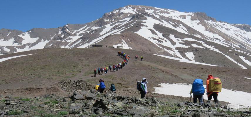 صعود به قله ی خشچال