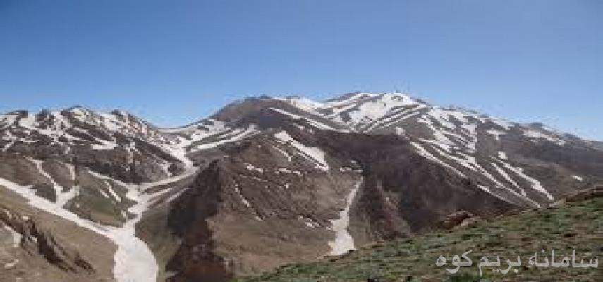 صعود قله کازینستان منطقه لرستان