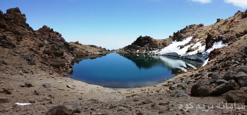 برنامه صعود به عروس قله های ایران قله سبلان