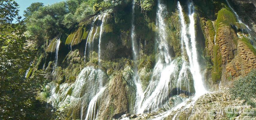 آبشار گرد بیشه ، شهرستان بروجن