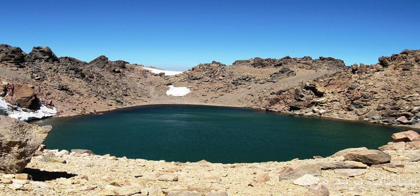 صعود قله سبلان سومین قله بلندایران