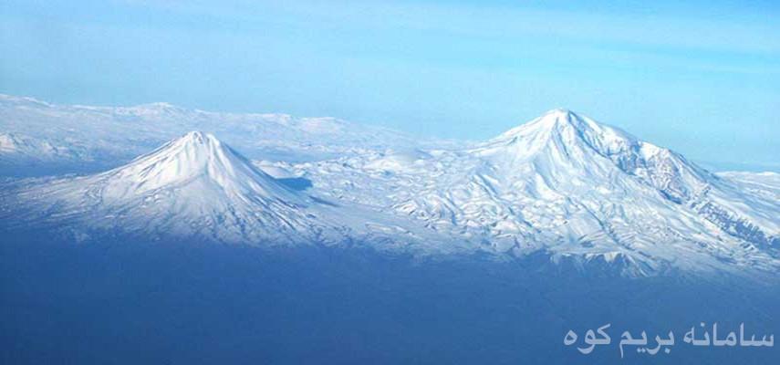 صعود زمستانی قله آرارات(آغری) ۵۱۳۹متر