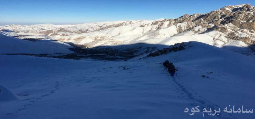 صعود به قله کرکوه (3150 متر)