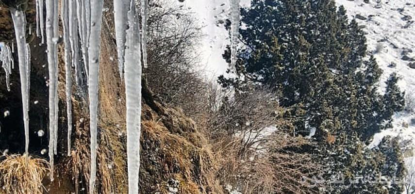 پیاده روی و گلگشت از روستای هیو (توابع نظرآباد) تا چشمه آب زندگانی