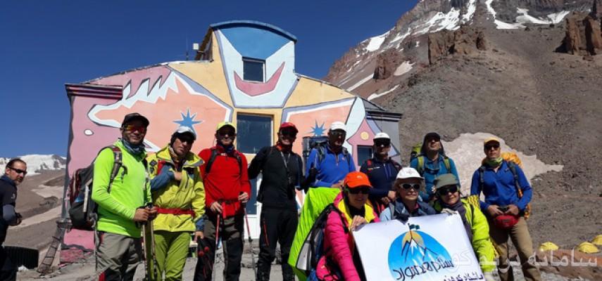 صعود قله کازبک(kazbek)