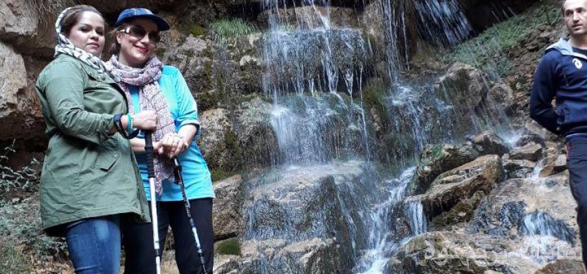 پیاده روی و طبیعت گردی در روستای دربند ولیان