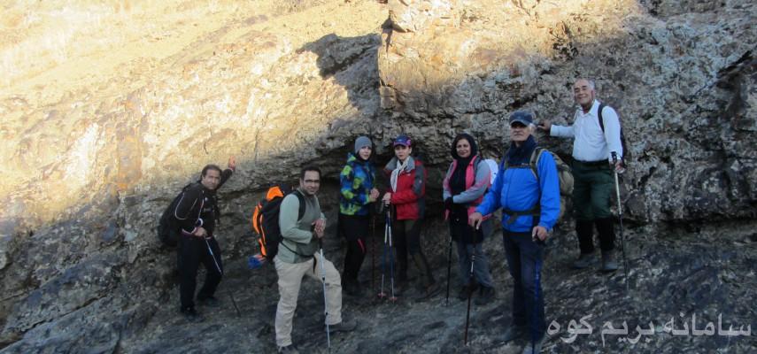 صعود به قله 3400 متری پهنه سار
