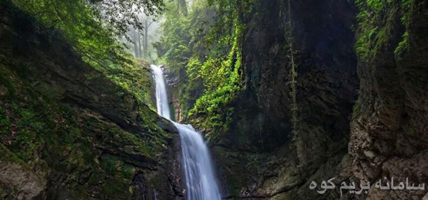 تور یک روزه جنگل و دریاچه زیبای فراخین و آبشار دارنو