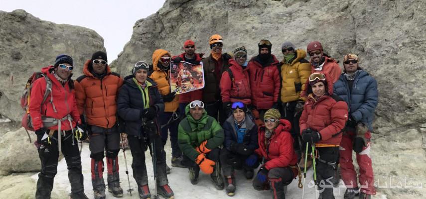 صعود به قله دماوند از جبهه جنوبی