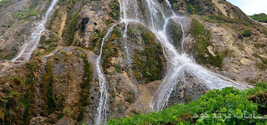 آبشار دراسله، قله شلفین