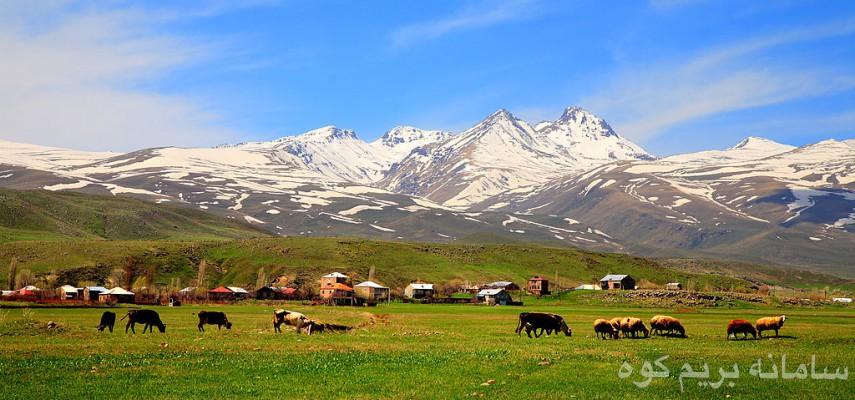 صعود قله آراگاتس ارمنستان