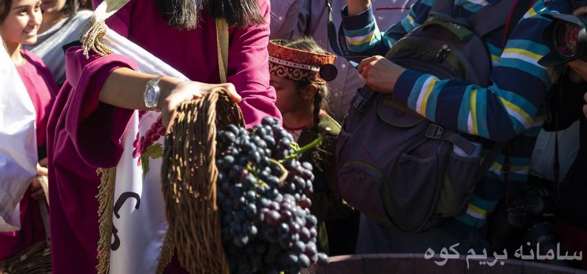 جشنواره نوشیدنی های سنتی انگور