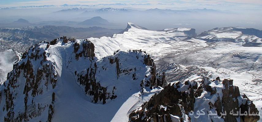 طرح سیمرغ قله برف انبار قم