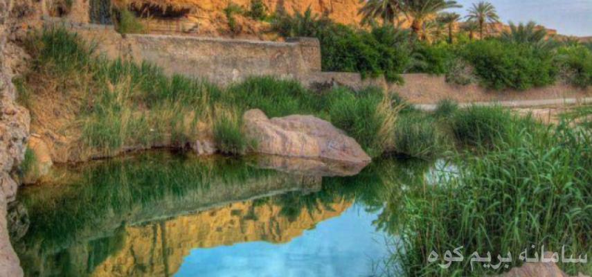 کویر مصر و بهشت ازمیغان