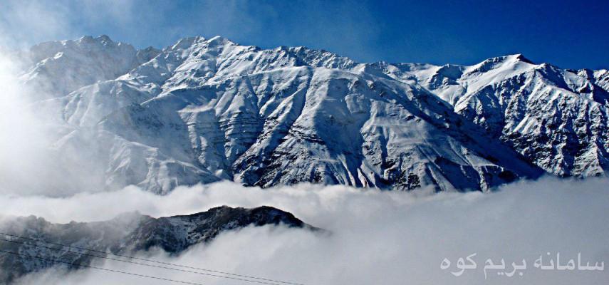 صعود دو قله مرتفع
