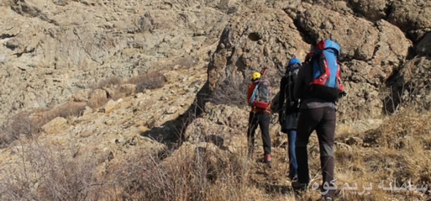 صعود به قله اسپیلت از روی گرده اصلی