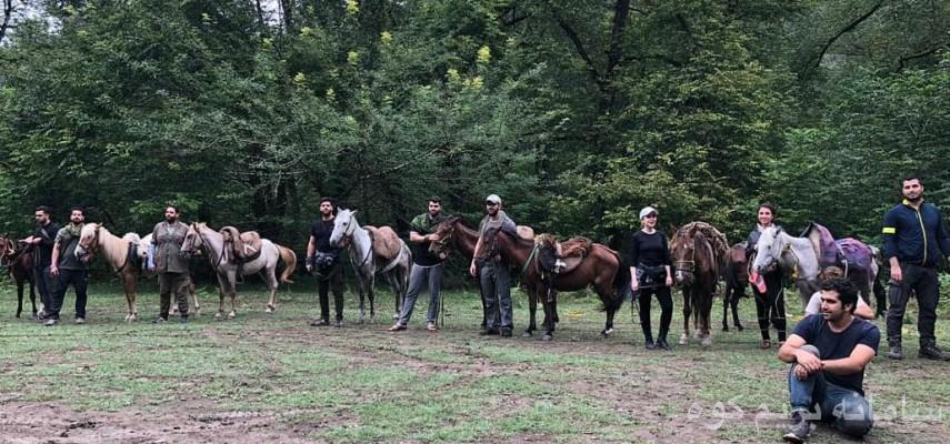 تور جنگل نوردی با اسب