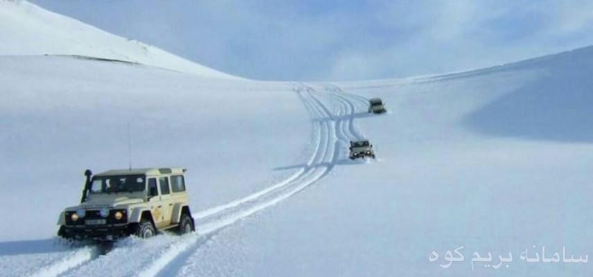 تور برف بازی