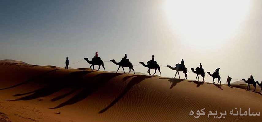 تور کویر مصر تا قلعه بیاضه