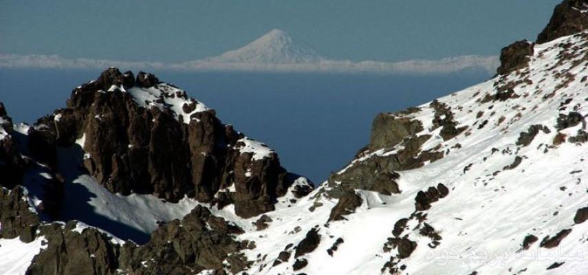 صعود یکروزه 27دی به قله کرکس