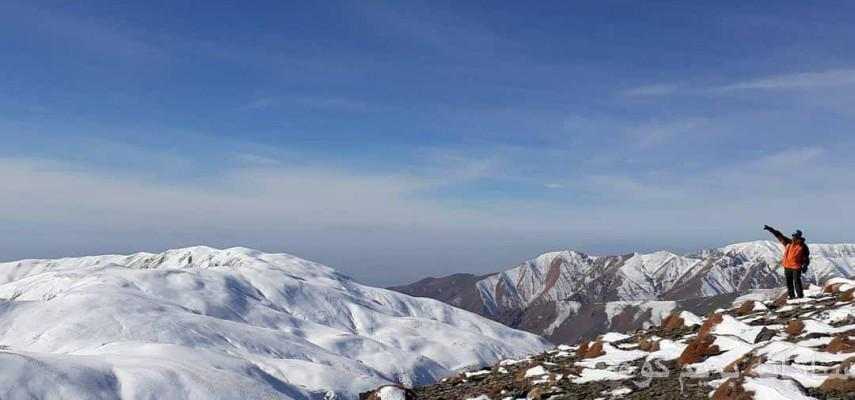 صعود زمستانی قله زشک