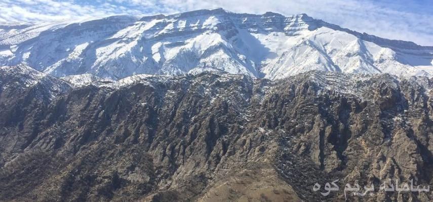 صعود به قله کان صیفی بام استان ایلام طرح سیمرغ