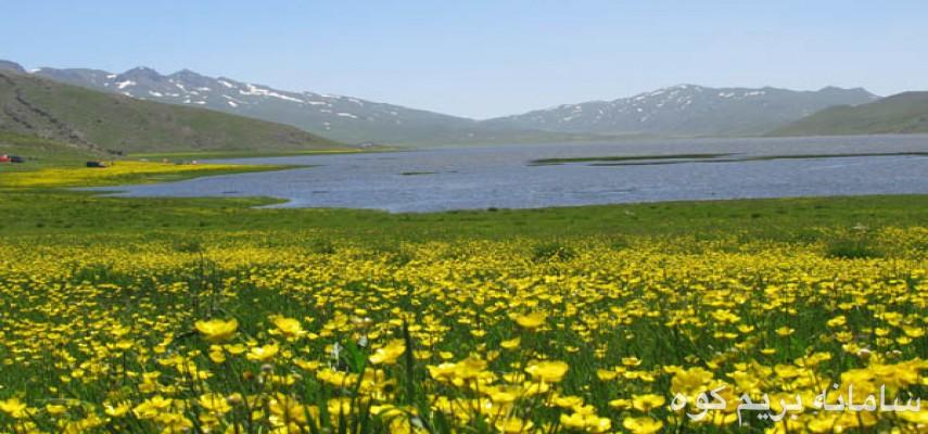 دریاچه نئور به سوباتان و لیسار