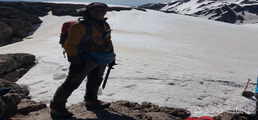 صعود قله پازن پیر - دنا