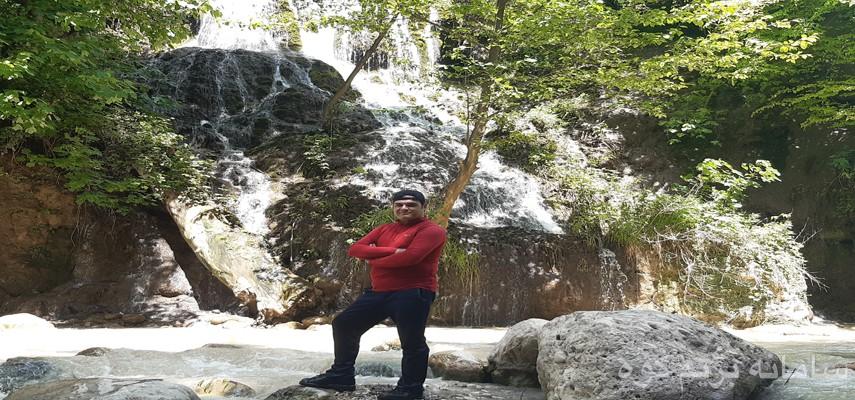آبشار سن بی بهشهر