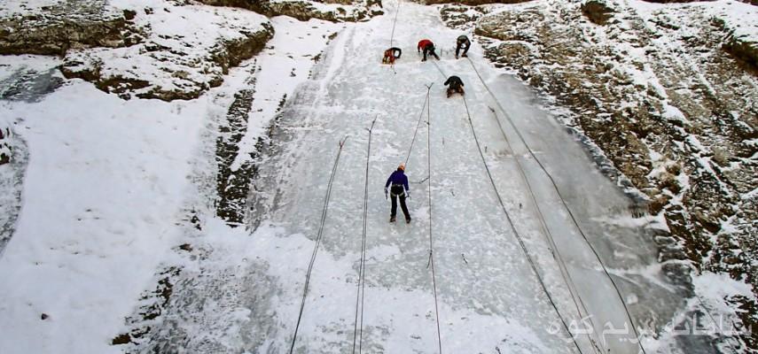 پیشرفته برف و یخ بانوان
