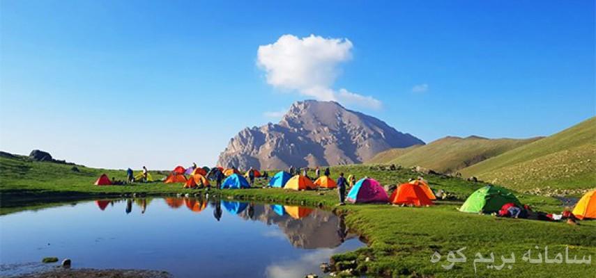 صعود یک روزه قله آزادکوه
