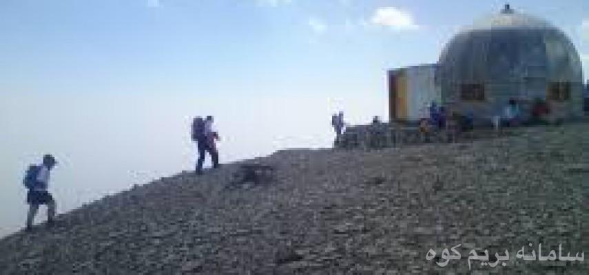 صعود به قله توچال از قدیمی ترین مسیر