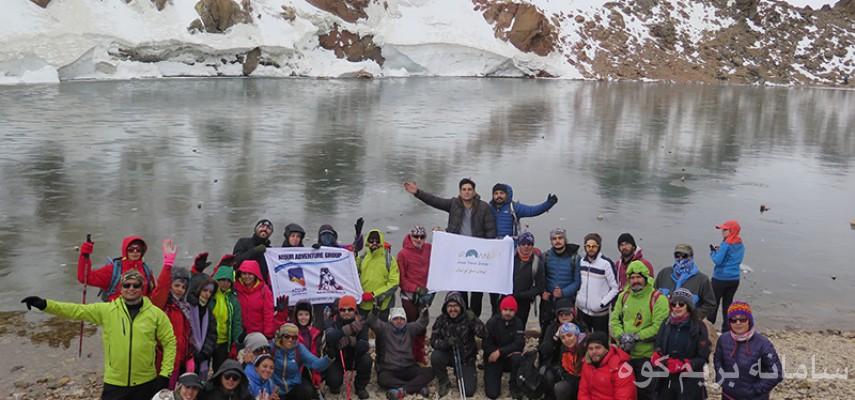 برنامه صعود به قله سبلان 4811 متر