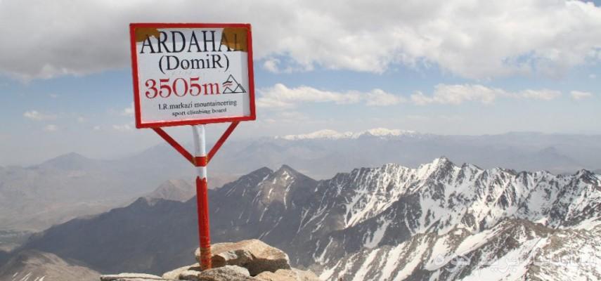 صعود به قله دومیر  بلندترین قله استان مرکزی و از 31 قلل شاخص کشوری