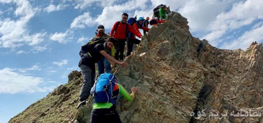 تیغه های دارآباد تا قله توچال