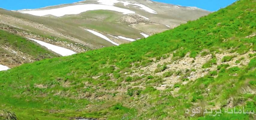 طرح سیمرغ- صعود به قله بلقیس (استان زنجان)