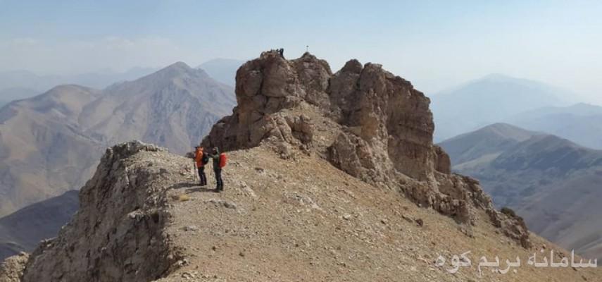 قله آهنگرک به سی چال