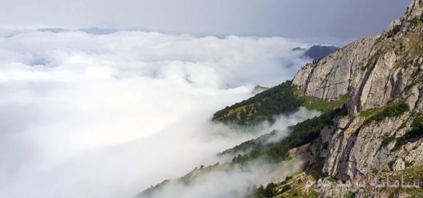 صعود به قله درفک