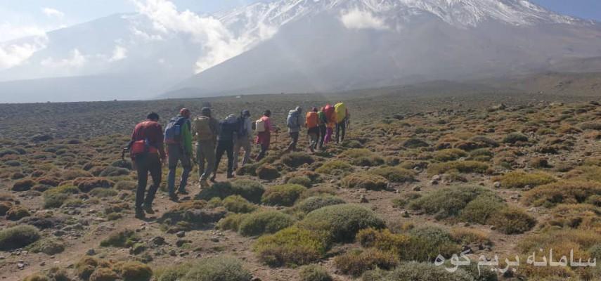 کارآموزی کوهپیمایی آقایان