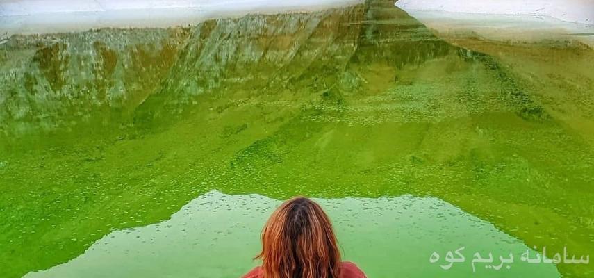 گرمسار غار نمکی و حوضچه شور