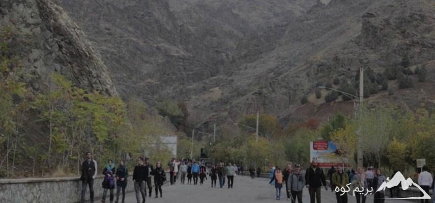 بام تهران،پیمایش تا ایستگاه 2 توچال