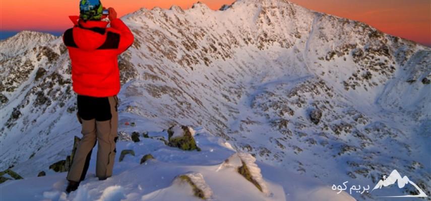 دوره آنلاین کوهنوردی در زمستان