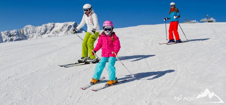 دوره آموزش اسکی آلپاین (گروهی)