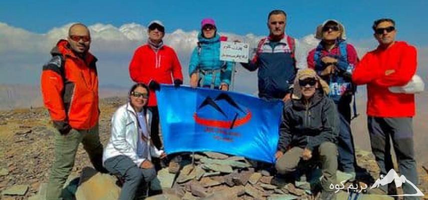 صعود و پیمایش قله چین کلاغ به سیاه سنگ