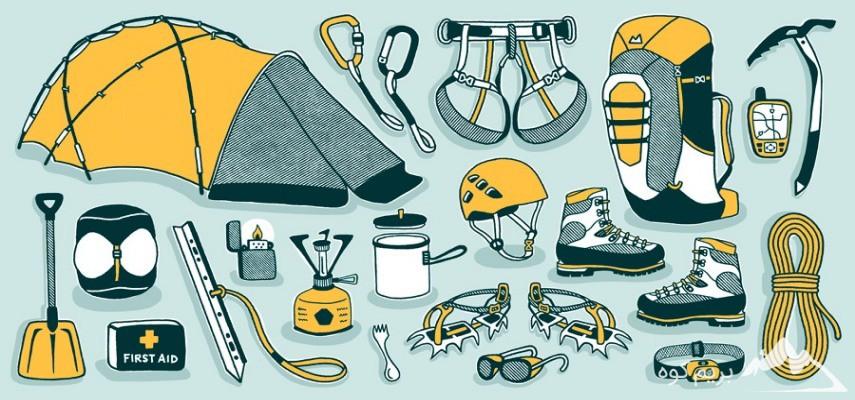 دوره آنلاین آشنایی با تجهیزات کوهنوردی و طبیعتگردی