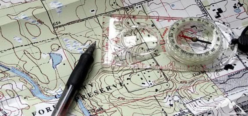 کارگاه آموزشی نقشه خوانی و کار با قطب نما